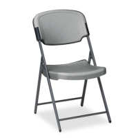 High Quality Charcoal Steel Frame Heavy Duty Folding Chair