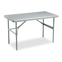 High Quality 4ft Charcoal Heavy Duty Folding Table