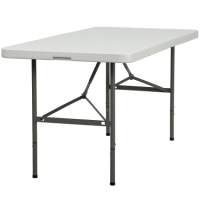 High Quality 5ft Bi-Fold Folding Table