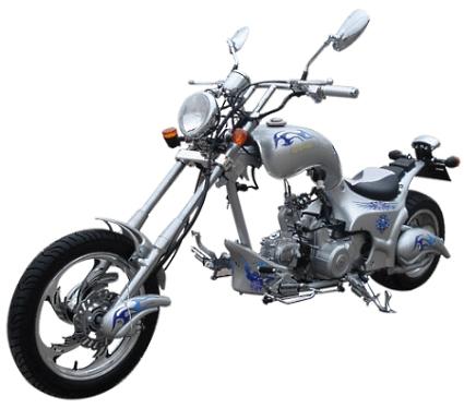 125cc heron 4 stroke single cylinder chopper. Black Bedroom Furniture Sets. Home Design Ideas