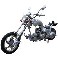 125cc Heron 4 Stroke Single Cylinder Chopper