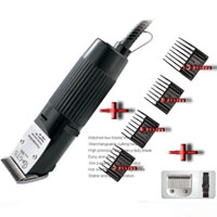 High Quality Cat & Dog Electric Clippers w/2 Blades & 4 Combs