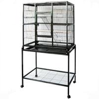 31x19x63 double deck parrot cage