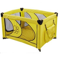 "High Quality Yellow 45"" Dog Play Pen"