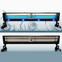"Aquarium Light 48"" 260 Watt PL Aqua Lighting Reef Marine Fish Tank Salt Water"