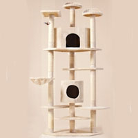 "Brand New Cat Tree 80"" Condo Furniture Scratching Post Pet Cat Kitten House"