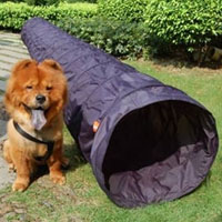 18' Dog Tunnel-navy blue