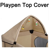 High Quality Beige Play Pen Canopy Cover