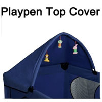 High Quality Blue Play Pen Canopy Cover