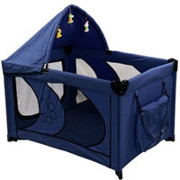 "High Quality Blue 45"" Dog Play Pen with Canopy"
