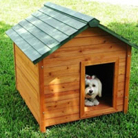 High Quality Medium Classic Cedar Dog House