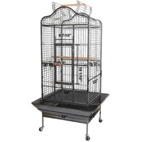 32x30x61 dome play top bird cage