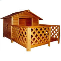 High Quality Mansion Style Dog House