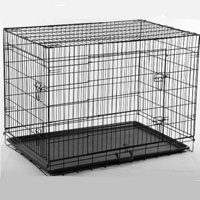 36 inch 2 Door Metal Kennel