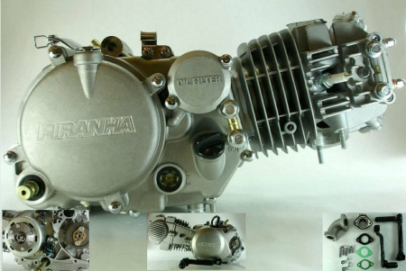 Brand New Piranha 150cc Kick Start Pit Bike Complete Engine