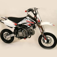 Brand New Piranha Daytona 190-4v Pit Bike White