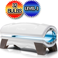 ProSun Onyx 32 SLI Intensive 32 Bulb Level 3 Commercial Tanning Bed 230v