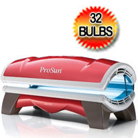 ProSun Onyx 3200 32 Bulb Level 1 Commercial Tanning Bed 230v