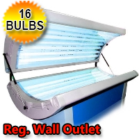 RelaxSun 16 Home Tanning Bed 110V Home Tanning