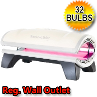 RenuvaSkin JD 3200 Red Light Therapy Bed 120v