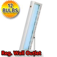 Sundream 12V 100 Watt Stand Up Canopy Tanning Bed