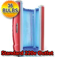 V1 36 XLC Tanning Booth High Output Stand-Up Home Tanning Booth