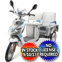 Taxi N Go Taxi Trike 3 Wheel Scooter Moped Bike