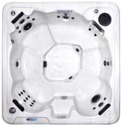 8 Person Non Lounger Hot Tub Spa With Walk In Steps W/ 48 Therapeutic Jets    GT 305