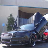 Brand New Audi RS6 2002-2004 Bolt On Lambo Vertical Doors Kit