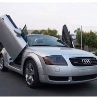 Brand New Audi TT 1999-2006 Bolt On Lambo Vertical Doors Kit