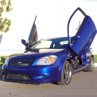 Brand New Chevrolet Cobalt 2004-2009 Bolt On Lambo Vertical Doors Kit