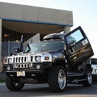 Brand New Hummer H2 2003-2008 Bolt On Lambo Vertical Doors Kit