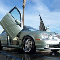 Brand New Jaguar S Type 2000-2006 Bolt On Lambo Vertical Doors Kit