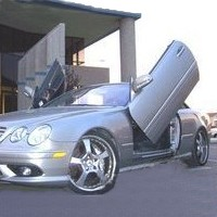 Brand New Mercedes CL 2000-2006 Bolt On Lambo Vertical Doors Kit