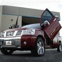 Brand New Nissan Titan 2005-2010 Bolt On Lambo Vertical Doors Kit
