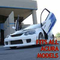 Brand New Acura Bolt On Lambo Vertical Doors Kit - Fits All Models