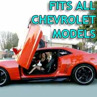Brand New Chevrolet Bolt On Lambo Vertical Doors Kit - Fits All Models