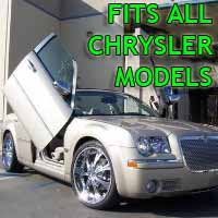 Brand New Chrysler Bolt On Lambo Vertical Doors Kit - Fits All Models
