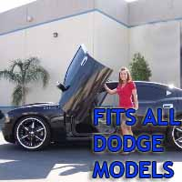Brand New Dodge Bolt On Lambo Vertical Doors Kit - Fits All Models