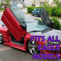 Brand New Eagle Bolt On Lambo Vertical Doors Kit - Fits All Models