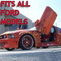 Brand New Ford Bolt On Lambo Vertical Doors Kit - Fits All Models