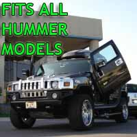 Brand New Hummer Bolt On Lambo Vertical Doors Kit - Fits All Models
