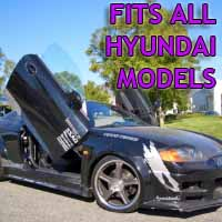 Brand New Hyundai Bolt On Lambo Vertical Doors Kit - Fits All Models