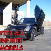 Brand New Infiniti Bolt On Lambo Vertical Doors Kit - Fits All Models