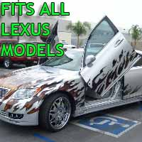 Brand New Lexus Bolt On Lambo Vertical Doors Kit - Fits All Models