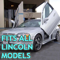 Brand New Lincoln Bolt On Lambo Vertical Doors Kit - Fits All Models