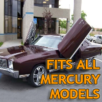 Brand New Mercury Bolt On Lambo Vertical Doors Kit - Fits All Models