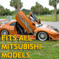 Brand New Mitsubishi Bolt On Lambo Vertical Doors Kit - Fits All Models