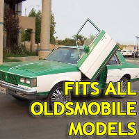 Brand New Oldsmobile Bolt On Lambo Vertical Doors Kit - Fits All Models