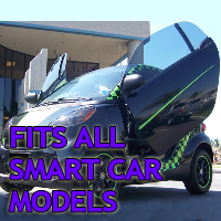 Brand New Smart Car Bolt On Lambo Vertical Doors Kit - Fits All Models